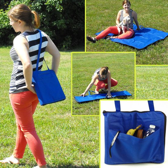 Folding Carry-Along Zippered Blanket / Bag Only $3.99 Plus FREE Shipping!
