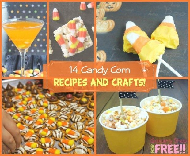 14 Candy Corn Recipes And Crafts!