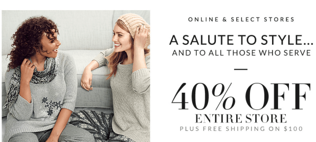 Lane Bryant 40% Off Sale Online & In-Store!
