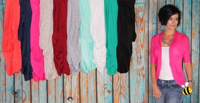 Open Draped Spring Cardigan Only $9.99! Down From $29.99! 13 Colors!