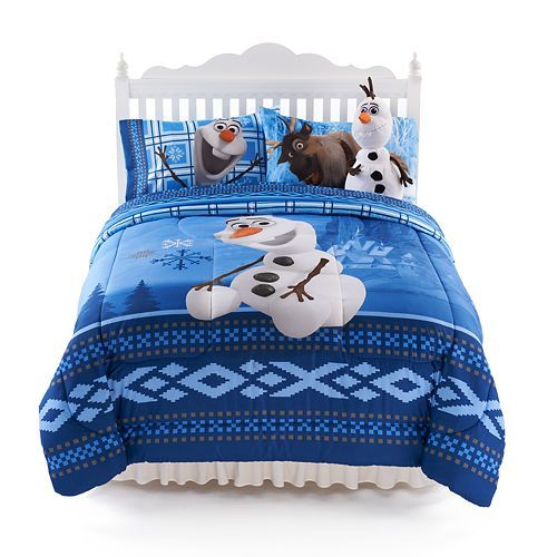 Disney Olaf Comforter & Sheet Set Only $13.44! Down From Up To $22.39!