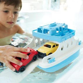 Green Toys Ferry Boat with Mini Cars Bathtub Toy Only $19.99! (Was $25)