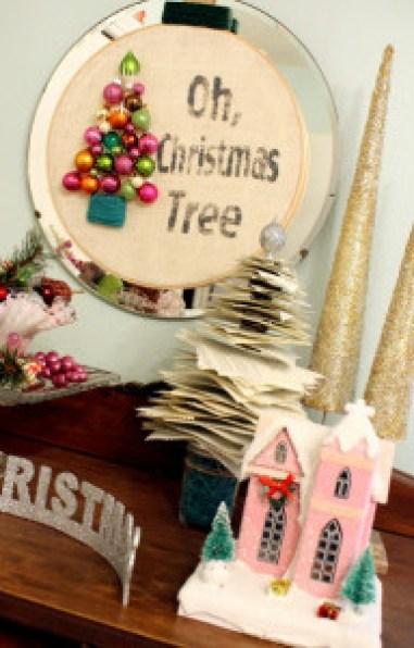 DIY Oh Christmas Tree Wreath