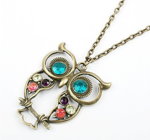 Super Cute Vintage Owl Necklace Just $2.28 + FREE Shipping!
