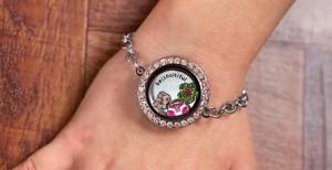 Floating Charms Locket Bracelet Only $17.99!