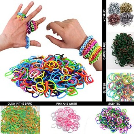 3000 Piece Loom Band Set Only $9.99 Shipped!