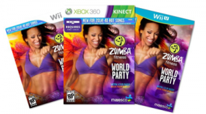 Zumba Fitness World Party For Wii Or Kinect Only $26.99!