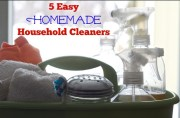 5 Easy Homemade Household Cleaners