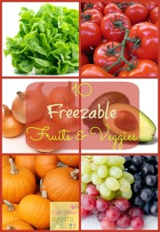 10 Freezable Fruits And Vegetables