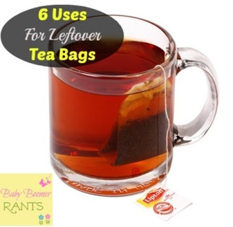 It's so fun to find other uses for things we already have on hand!  Check out these 6 Uses For Leftover Tea Bags!