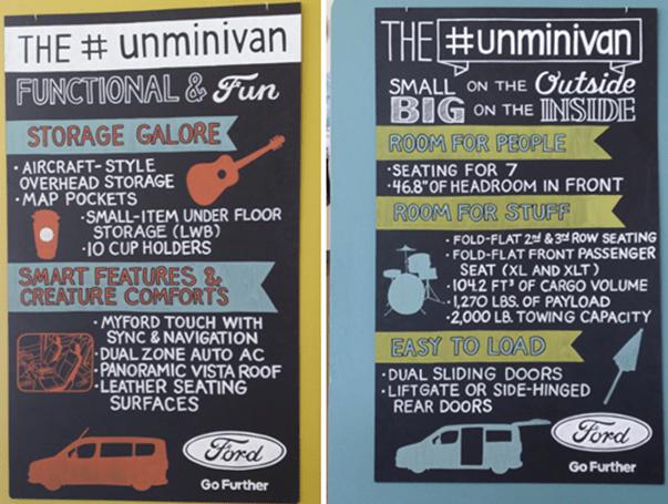 "Ford Transit The ""Unminivan"""