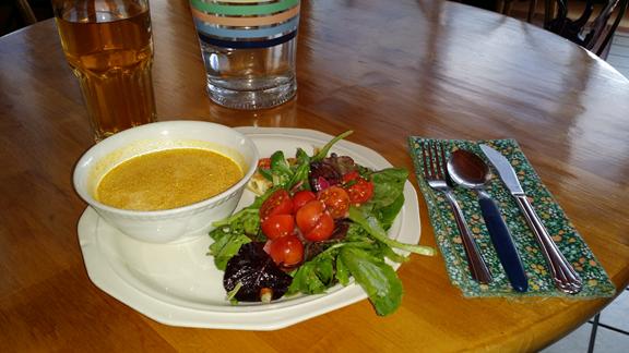 Potager Cafe In Arlington, Texas