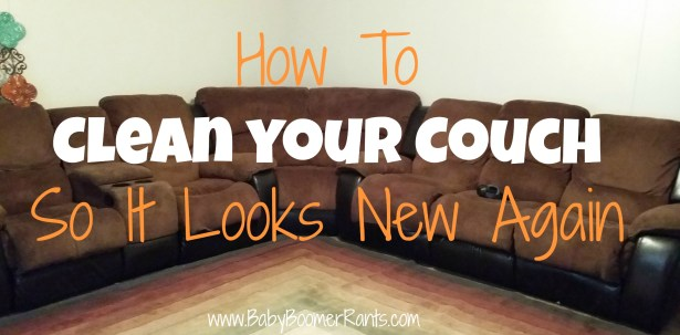 This post is all about How You Can Clean Your Couch So It Looks New Again.  These methods work wonderfully well and they're inexpensive and super easy, too!