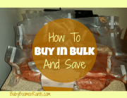 How To Buy In Bulk And Save