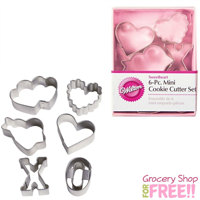 Wilton Valentine's 6 Piece Mini Cutter Set Only $5.99!