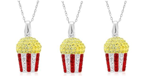 Swarovski Crystal Dazzling Popcorn Necklace