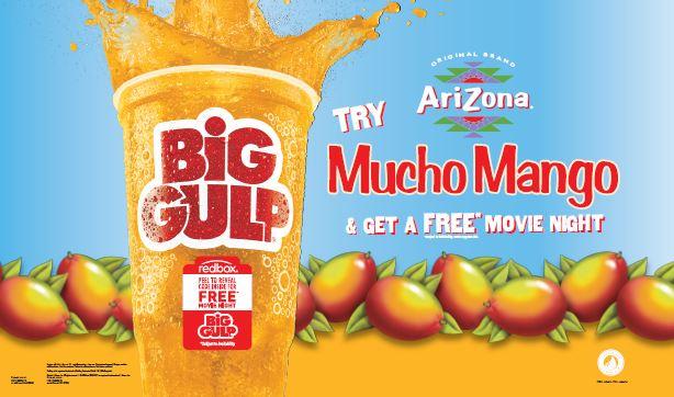 7-Eleven Big Gulp Promotion