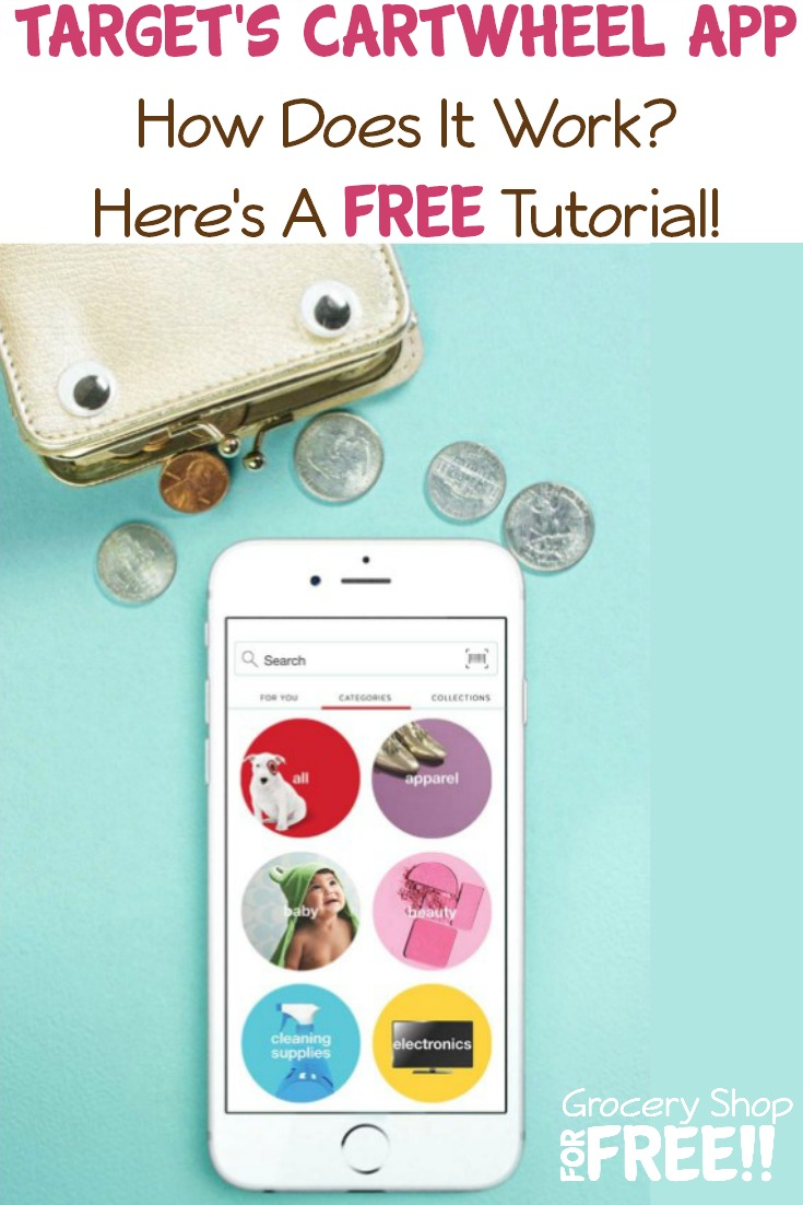 How Does The Target Cartwheel App Work?  Here is a super simple FREE Tutorial that will guide you through everything you need to know about the savings program.