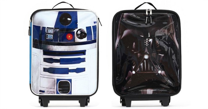 Kids Star Wars Wheeled Luggage Only $14! Down From $60!