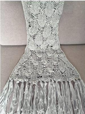 Mermaid Blanket Gray