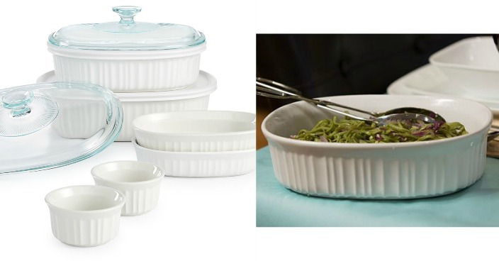 Corningware 10-Pc. Bakeware Set Only $21.24! Down From $80!