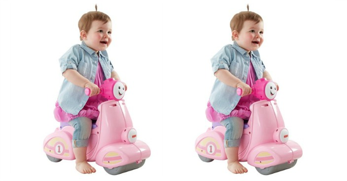 Fisher-Price Smart Stages Scooter Just $28.13! Down From $48!