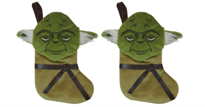 Star Wars Yoda Stocking Only $2.80 Shipped! Down From $10!