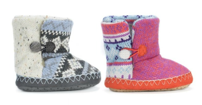 Baby Muk Luk Booties Just $15.99! Down From $36! Ships FREE!