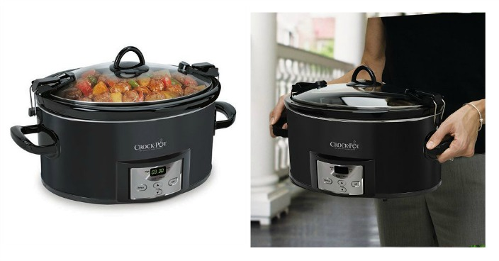 Crock-Pot 7-qt. Countdown Slow Cooker Only $24.99! Down From $65!