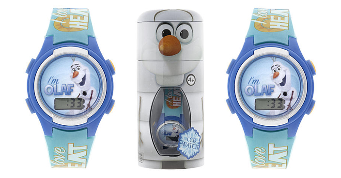 Disney Olaf LCD Watch in Cylinder Tin Just $5.99! Down From $20!