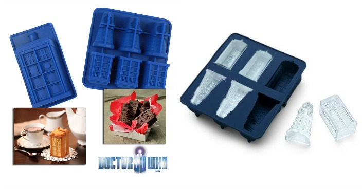 Doctor Who Tardis and Dalek Molds Just $3! Down From $15!