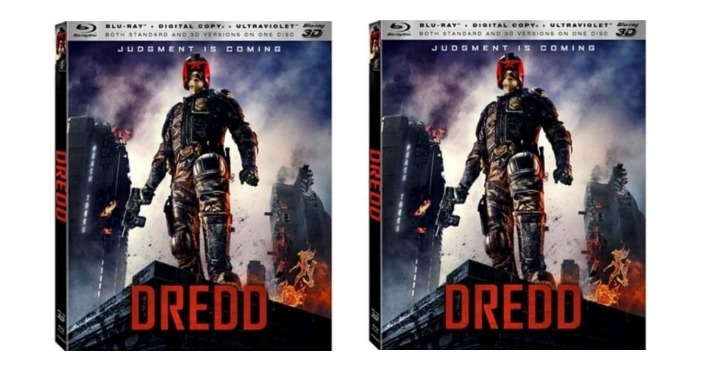 Dredd 3D Blu-ray + Blu-ray + Digital Copy Just $4.96! Down From $25!