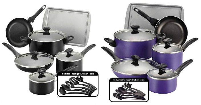 Farberware 15-pc. Cookware Set Only $34.99! Down From $120!