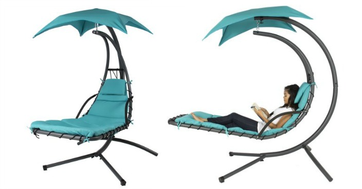 Hanging Chaise Lounger Chair Just $124.99! Down From $400! Ships FREE!