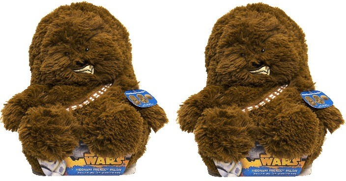 """Star Wars Chewbacca 14"""" Hideaway Pet Just $7.99! Down From $20! Ships FREE!"""