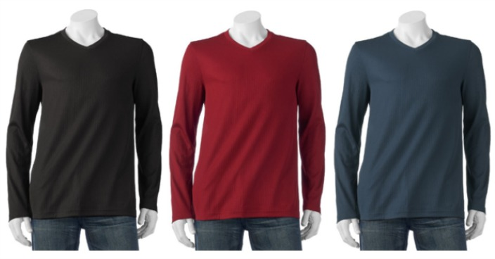 Big & Tall Croft & Barrow V-Neck Sweater Just $7.17! Down From $28!