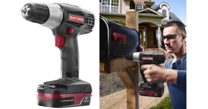 Craftsman C3 3/8-in. Drill/Driver Kit Just $39.29! Down From $80!