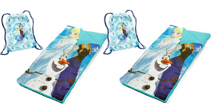 Disney Frozen Sling Bag Slumber Set Nap Mat