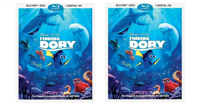 Finding Dory Blu-ray/DVD Just $14.99!