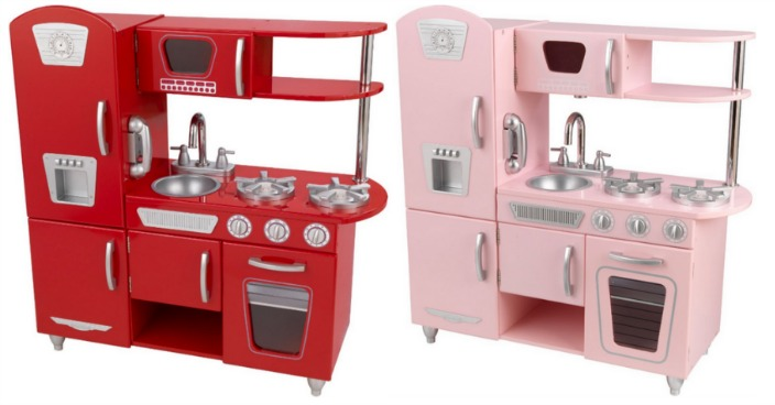 KidKraft Vintage Wooden Play Kitchen Just $86.62! Down From Up To $119!
