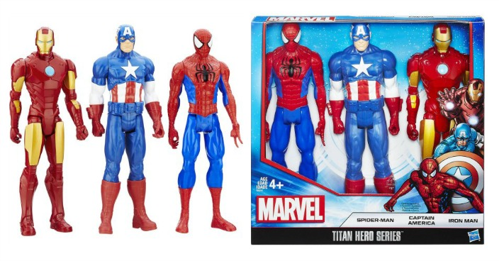 Marvel Titan Hero Series 3-Pack Just $14.98! Down From $25!