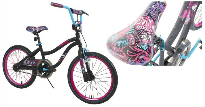 "20"" Monster High Girls' Bike Just $50! Down From $99!"