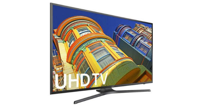 """Samsung 40"""" 4K Ultra HD, Smart, LED TV Just $297.99! Down From $1,000!"""