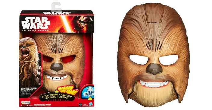 Star Wars Chewbacca Electronic Mask Just $32.50! Down From $45!