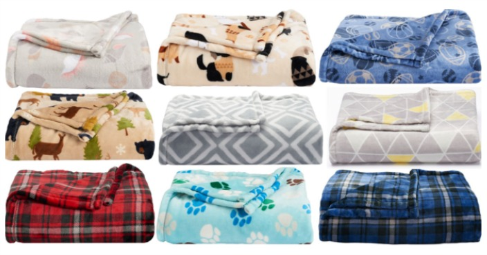 The Big One Super Soft Plush Throws Only $7.64! Down From $40!