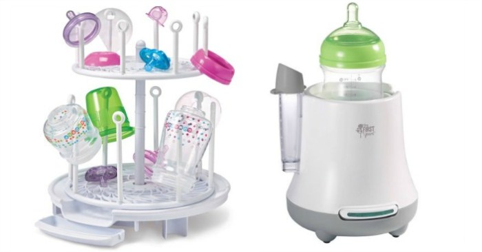 The First Years Bottle Warmer & Drying Rack Bundle Just $16.97!