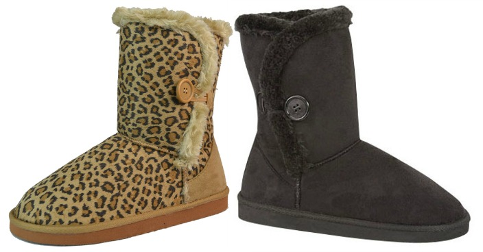 Australian 1-Button Foldable Boots Just $8.99! Down From $100! Ships FREE!