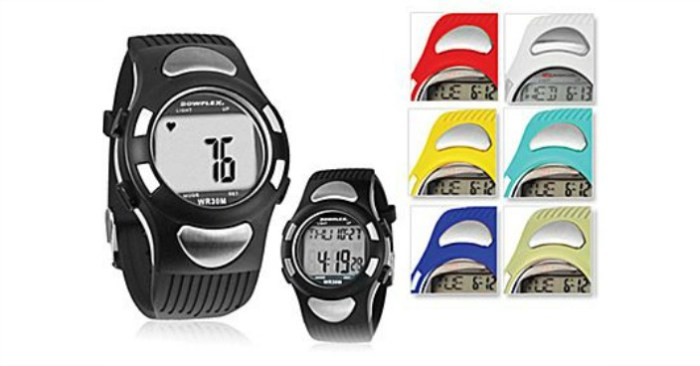 Bowflex EZ Pro Heart Rate Monitor Watch Just $7.99! Down From $130!
