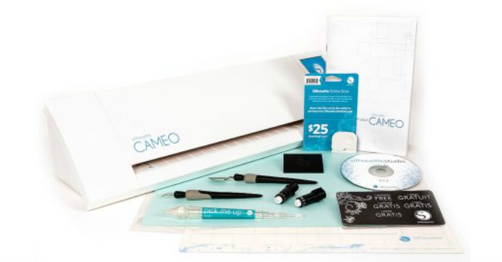 Silhouette CAMEO Essentials Starter Bundle Just $189! Down From $378!