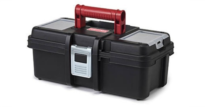 FREE Craftsman 13 Inch Tool Box With Tray!